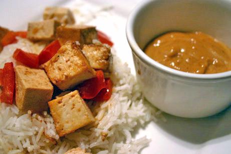 Grilled or Roasted Tofu Satay