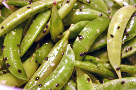 Sugar Snap Peas with Sesame