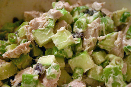 Chicken-Apple Crunch Salad