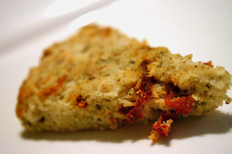 Manchego, Herb, and Sun-dried Tomato Scones