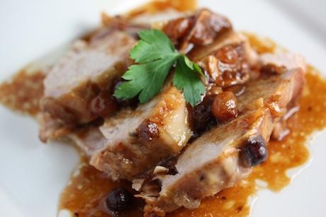 Slow-Cooker Cranberry Pork Roast