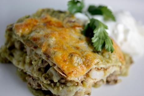 Posole Mexican Lasagna