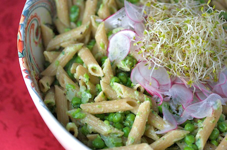 Penne with Peas and Ricotta
