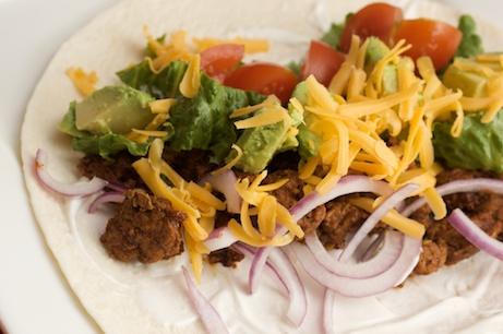Turkey Tacos with Homemade Taco Seasoning Mix