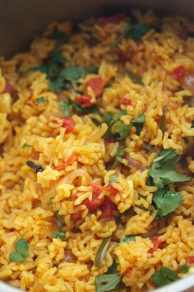 Nimmy Paul's Tomato Rice (Tamatar Biryani)