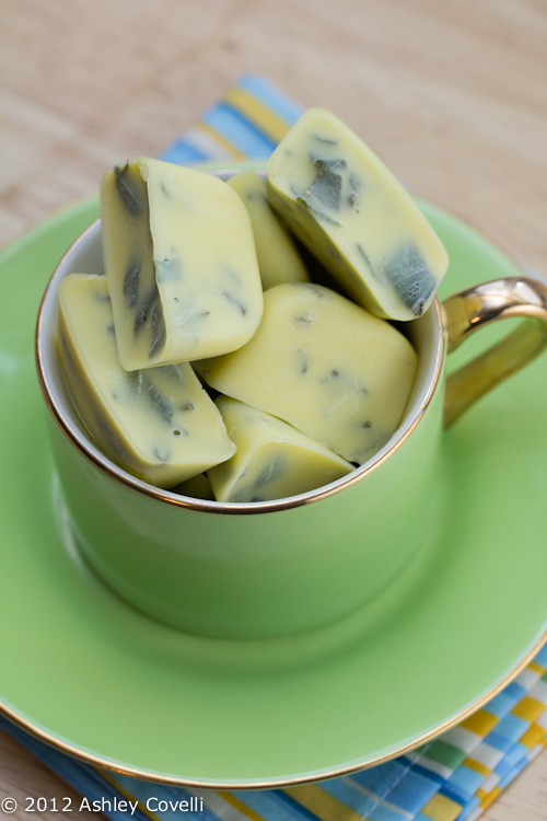 Saving Fresh Herbs In Olive Oil