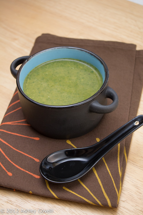 Witches' Brew Cheesy Spinach Soup