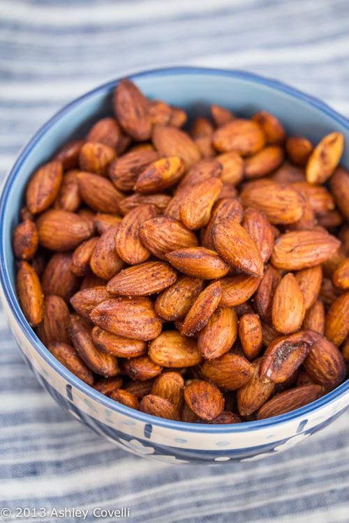 Ethiopian Spiced Almonds