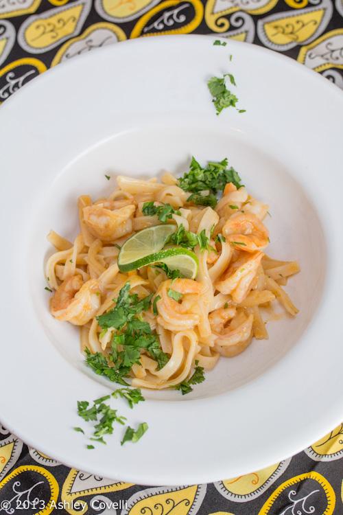 "Thai Shrimp ""Alfredo"""
