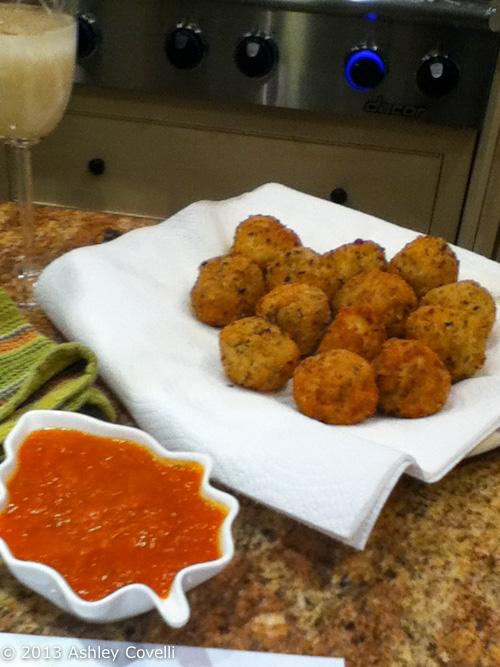 Supper Club: Italian Rice Balls