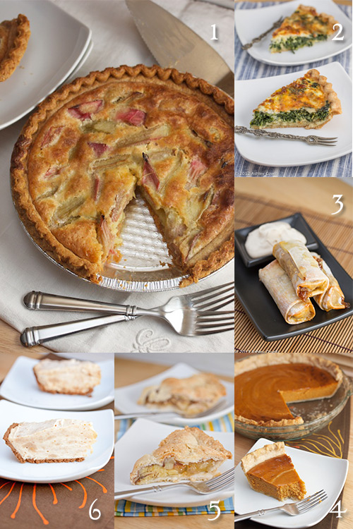In Honor of Pi Day: Favorite Pies - Recipe Roundup