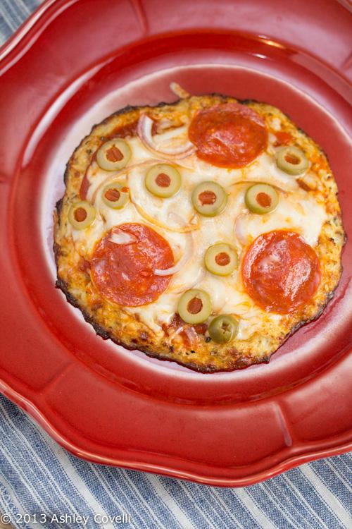 Individual Pizzas with Cauliflower Crust