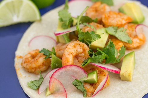 Tequila-Lime Shrimp Tacos