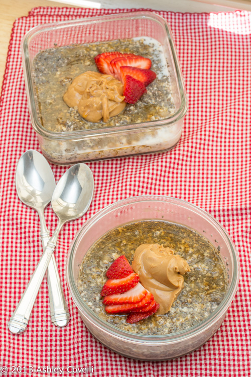 Easy Overnight Oatmeal Chia Breakfast Pudding
