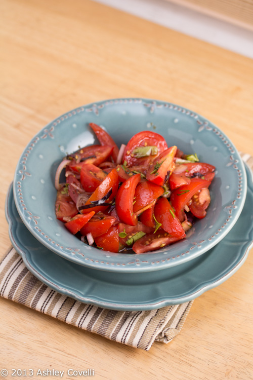 Tomato Salad with Aged Balsamic and Fresh Herbs