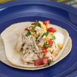 Slow Cooker Shredded Green Chile Chicken