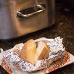 "Slow Cooker ""Baked"" Potatoes"
