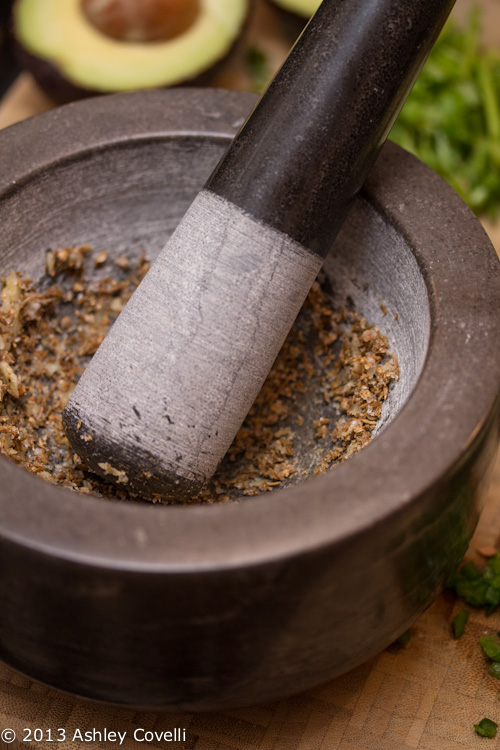 Toasted Spice Guacamole
