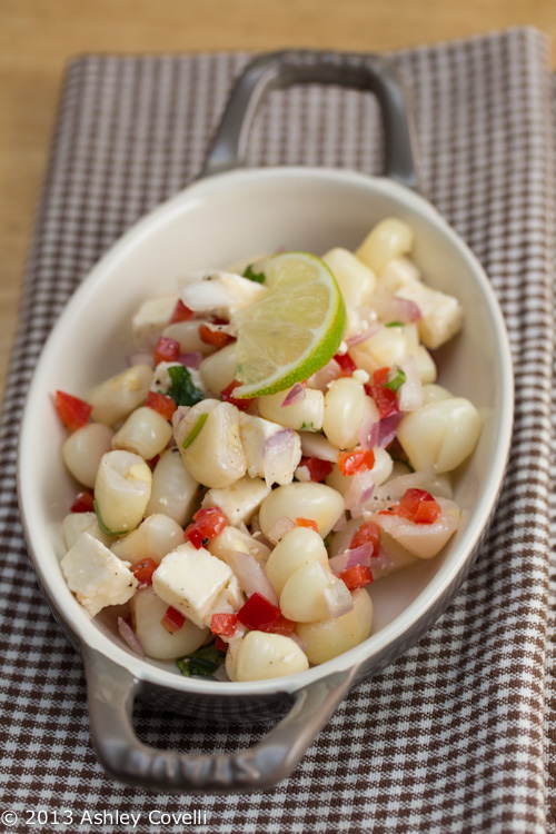 Corn Salad with Queso Fresco - Ensalada de Choclo