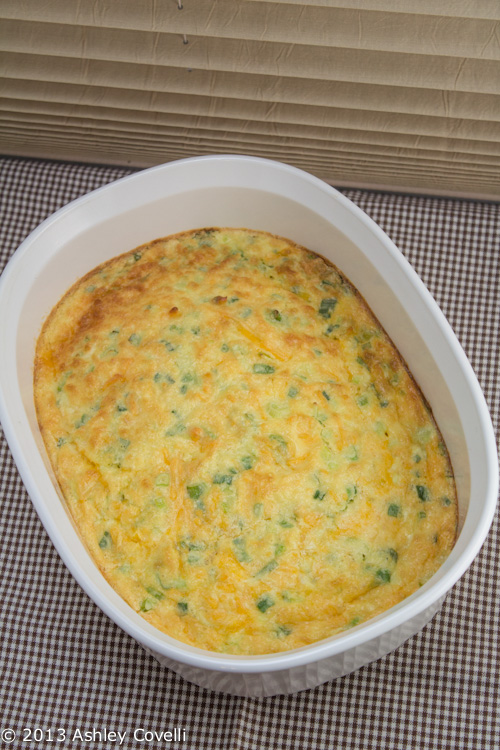 Cheddar Scallion Brunch Eggs