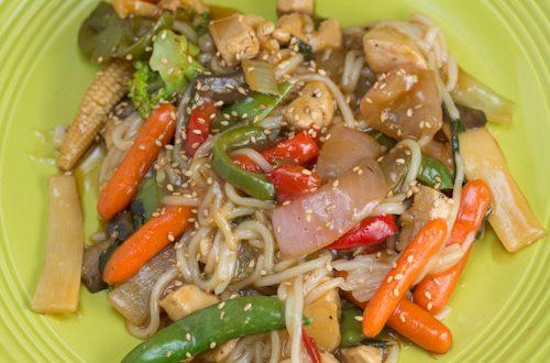 Chicken and Mixed Veggie Stir-Fry
