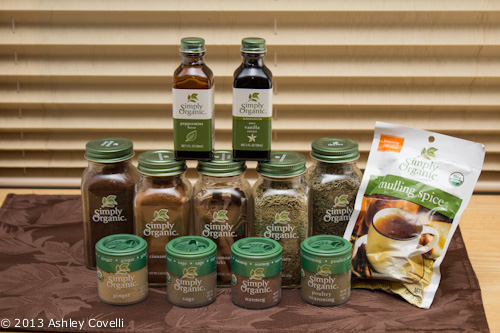 Simply Organic Spice Giveaway