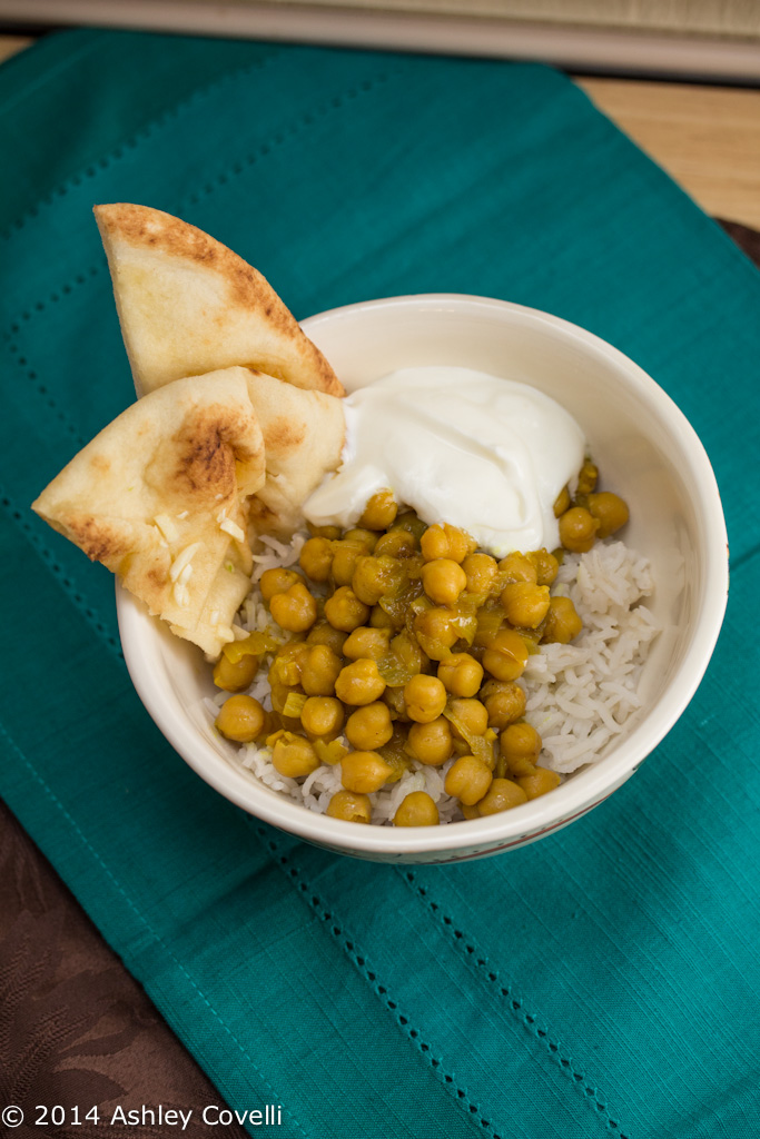 Slow Cooker Indian Chickpea Curry