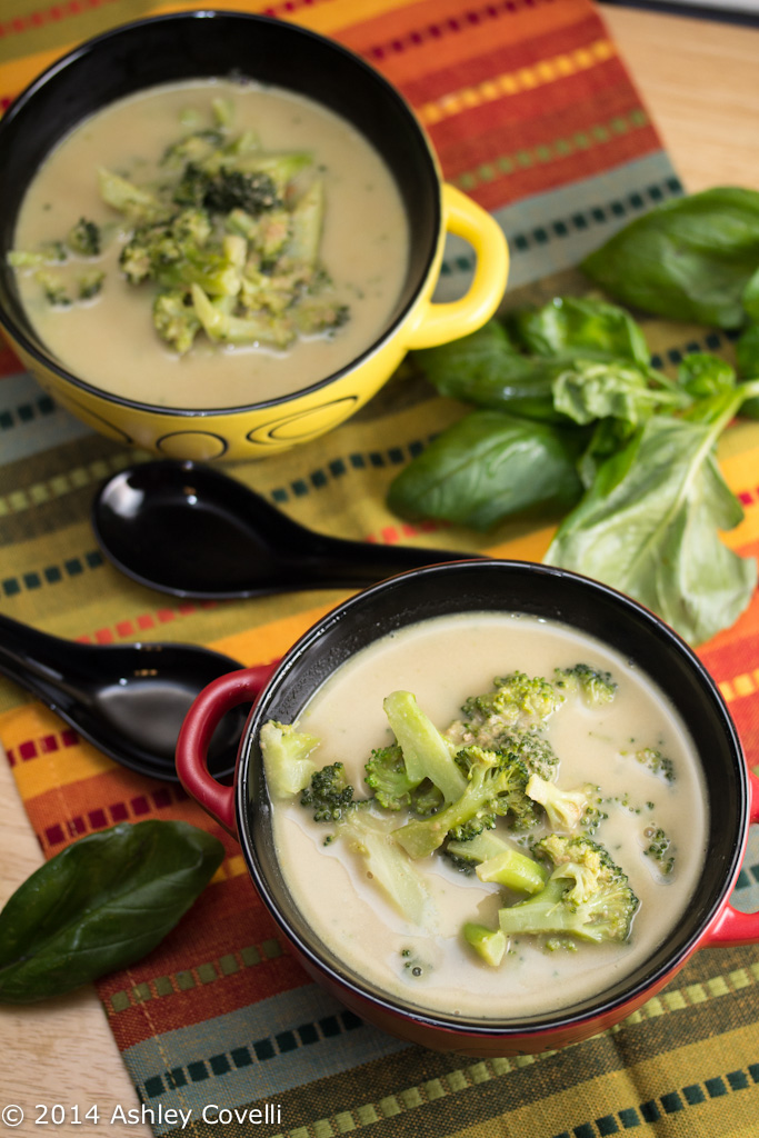 Broccoli and Green Curry Soup