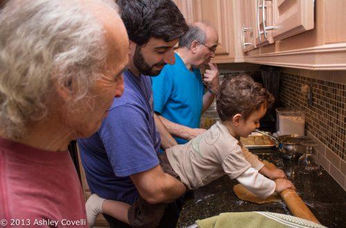 Family making Turdilli & Chinudille together