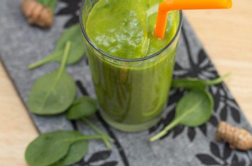 Green and Orange Smoothie
