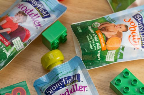 Stonyfield YoBaby, YoToddler and YoKids Pouches Review + Giveaway