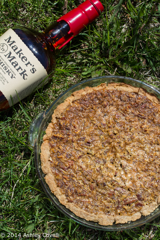 Bourbon Bacon Pecan Pie with a Whole Wheat Crust