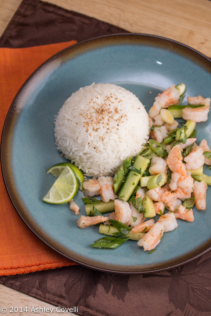 Burmese Shrimp Salad