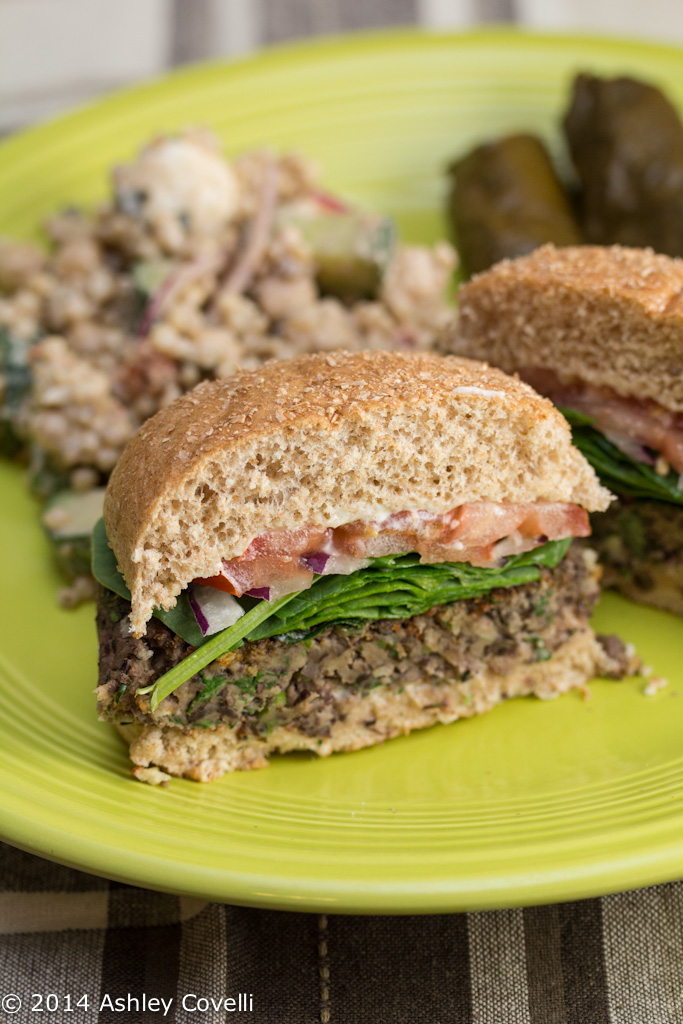 Terri's Favorite Vegetarian Black Bean Burger