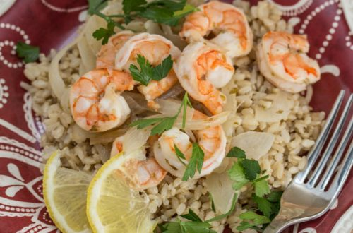 No-Fuss Greek Marinated Shrimp