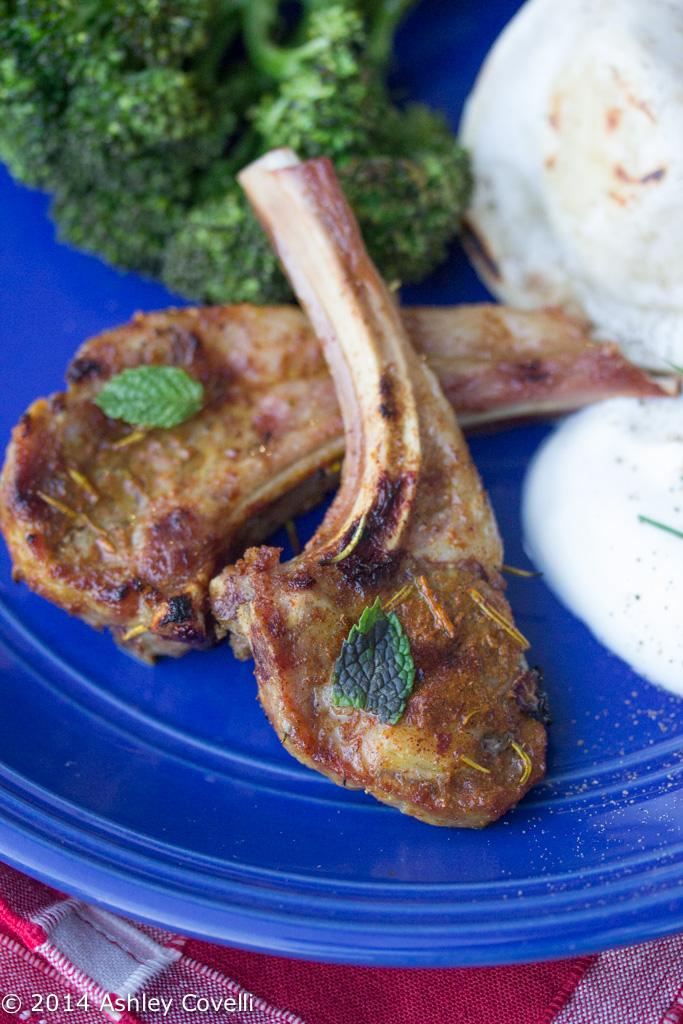 Tajine Spiced Grilled Lamb Chops