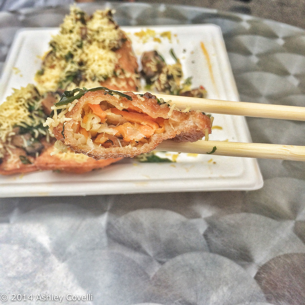 Chef Jehangir Mehta's Mushroom Dumplings