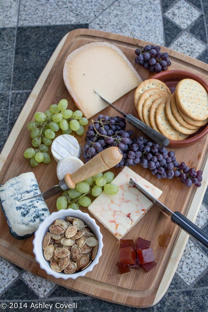 Early Autumn Cheese Board