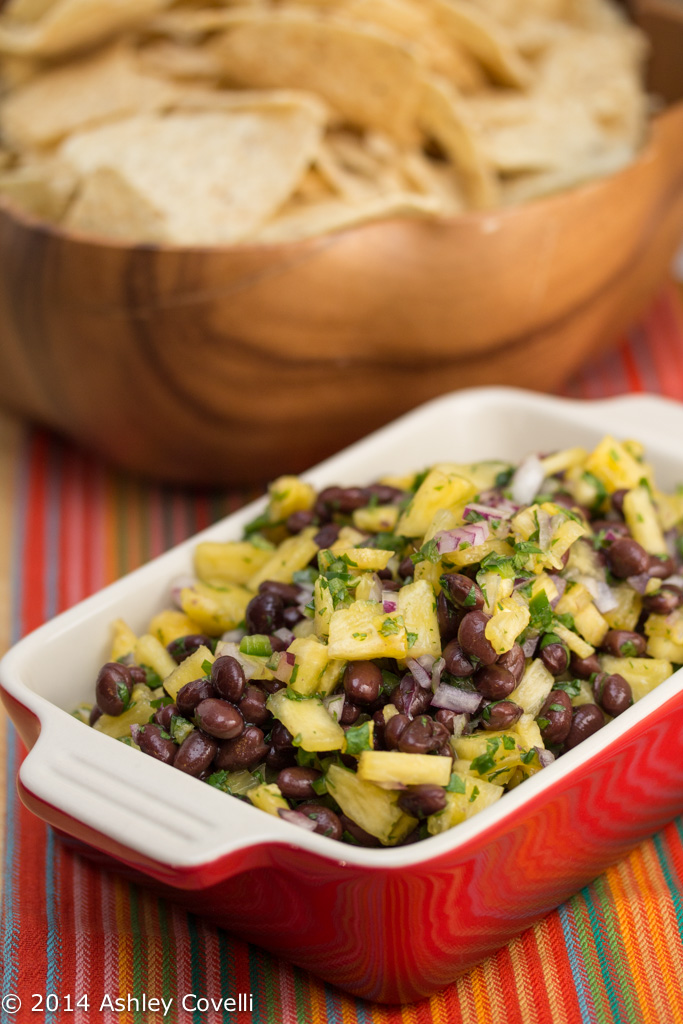 Pineapple and Black Bean Salsa
