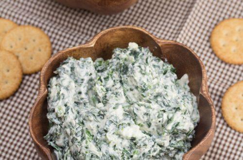 Creamy Parmesan Spinach Dip