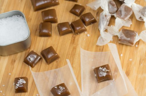 Bourbon Salted Caramel Candy