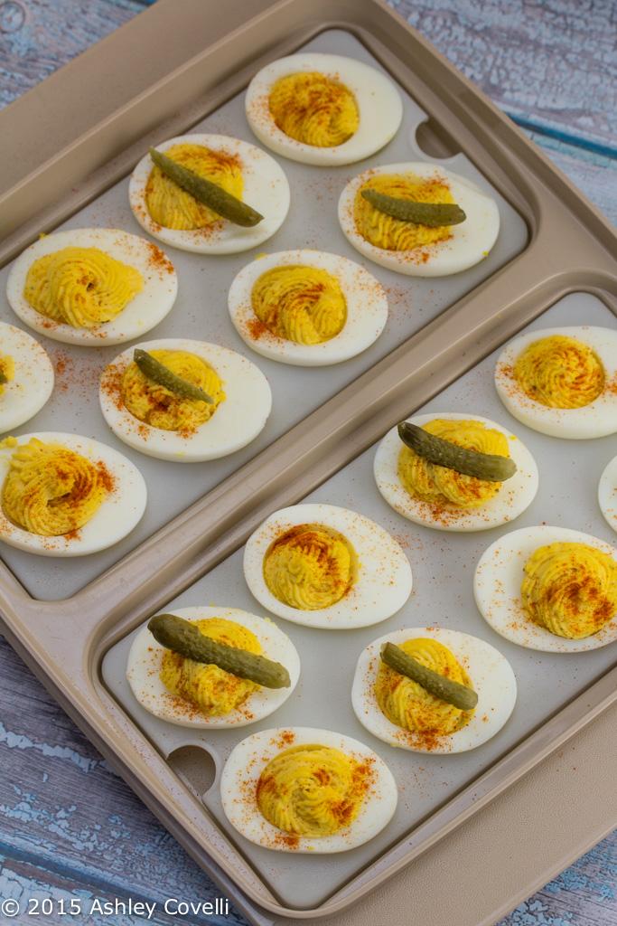 Dressy Deviled Eggs