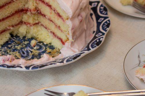 Strawberry-Lemonade Layer Cake