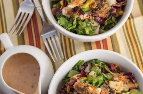 BBQ Ranch Chopped Chicken Salad