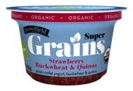 Stonyfield Super Grains Strawberry