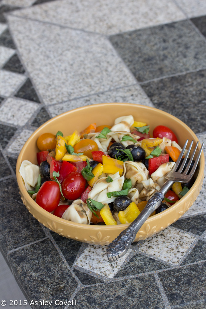 Pasta Salad with Creamy Balsamic Vinaigrette