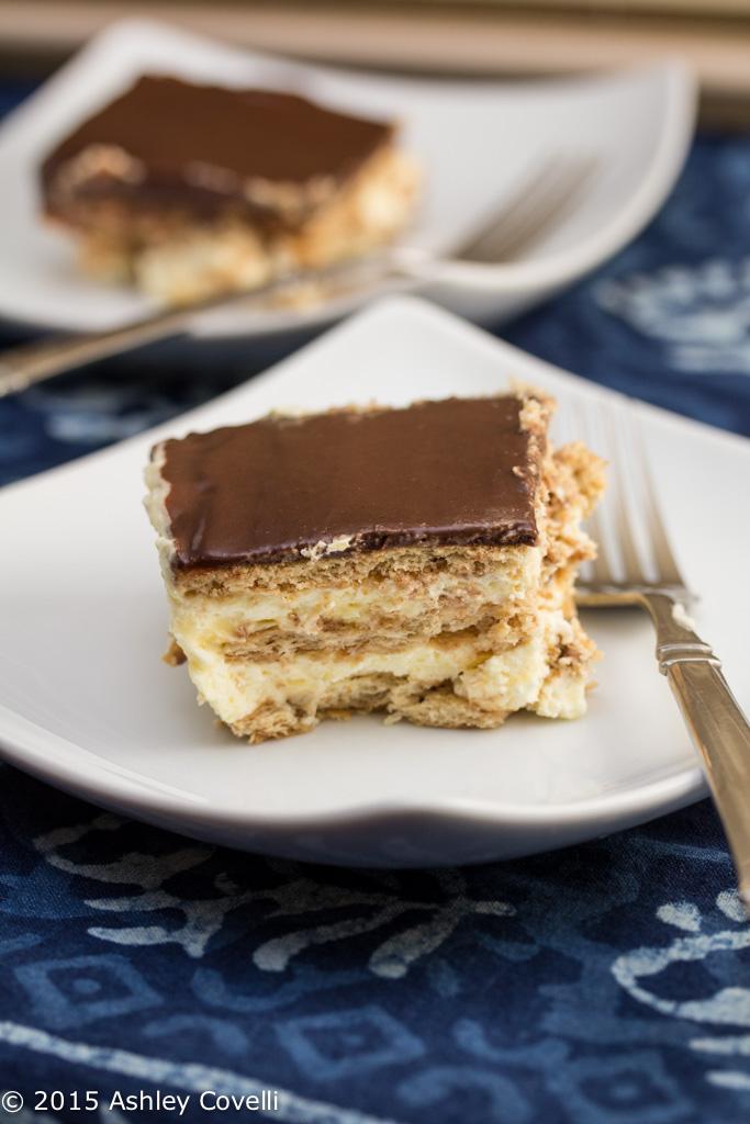 Chocolate-Éclair Icebox Dessert