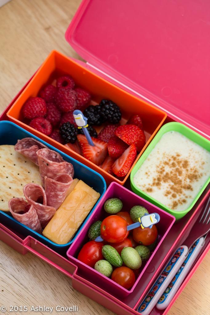 Maple Cinnamon Yogurt Dip + Lunchbox Tips for Preschoolers
