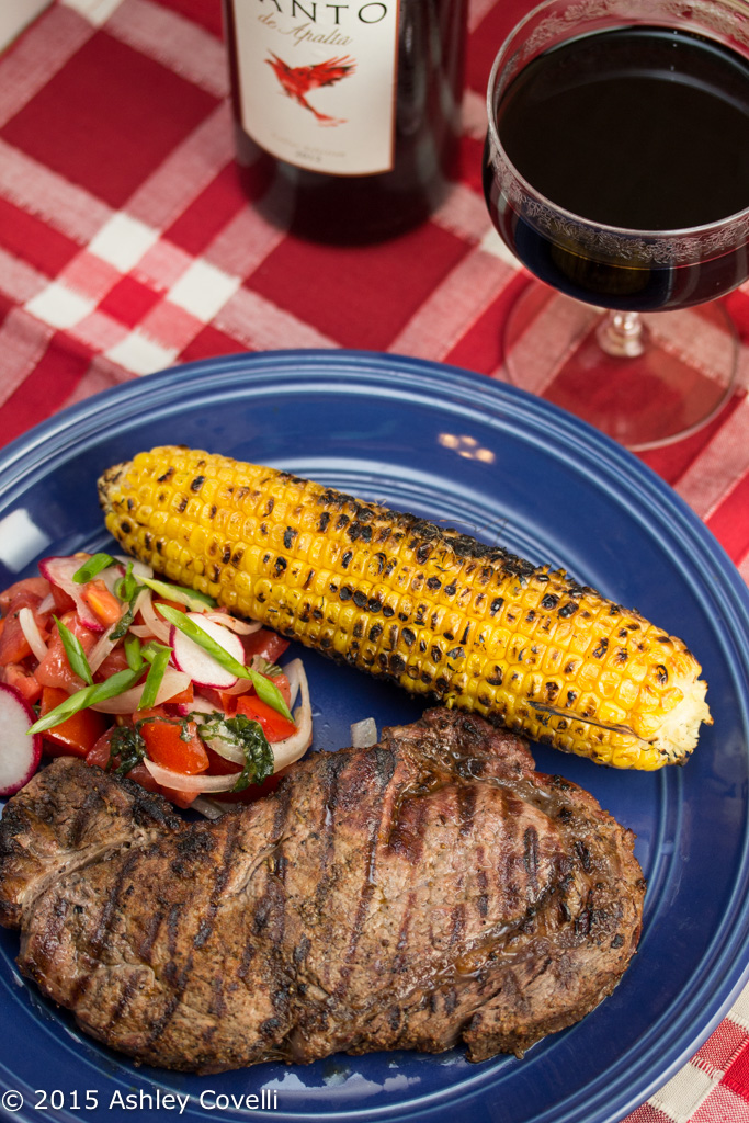 Grilled Steak with Spicy Latin Rub
