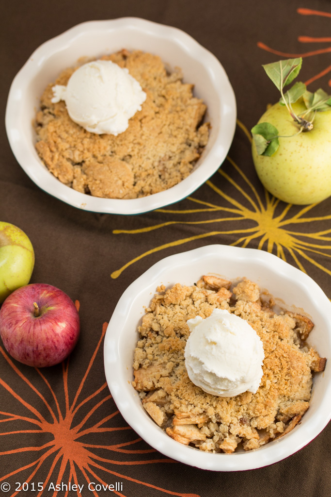 Sherry B's Apple Crisp for Two